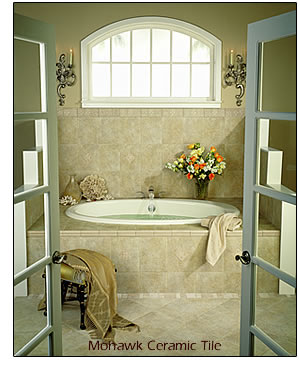 ceramic tile bath